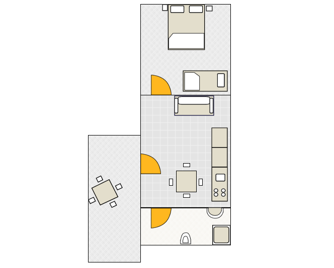 Apartment - A3 Ground-plan